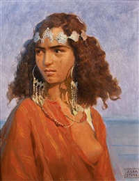 jeune marocaine by adam styka