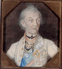 portrait of general suvorov by paul (baron) meyendorff