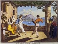 neapolitan genre scenes by hieronymus hess