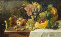 table still life by alois zabehlicky