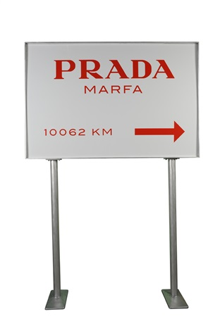 prada marfa sign by elmgreen dragset