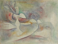 le nid fasciné by wifredo lam