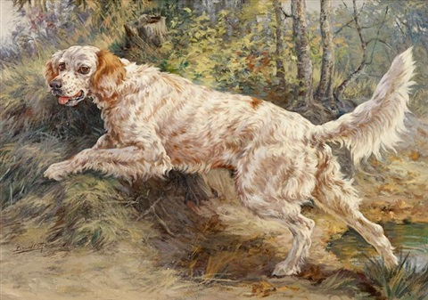 setter in pursuit by edmund henry osthaus