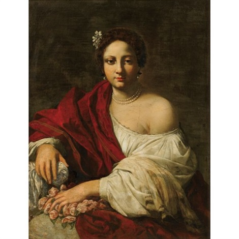 sainte dorothée by simon vouet