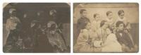 famille de huit personnes (2 works) by jean baptiste frénet