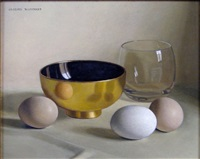 nature morte aux oeufs by jacques blanchard