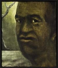 ko te kingitanga - painting about the king movement by tony fomison