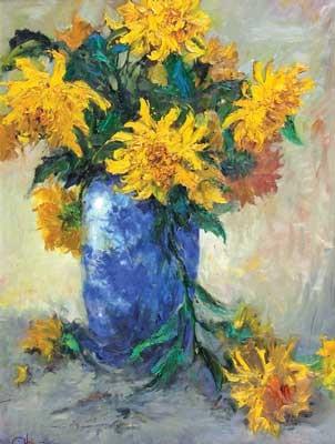 bunga matahari iii by chris suharso