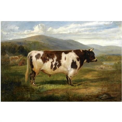president an ayrshire bull by joseph denovan adam