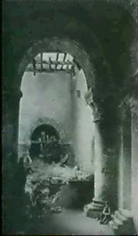 personnage dans les ruines by charles-louis lesaint