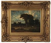 pastoral landscape by jules dupré