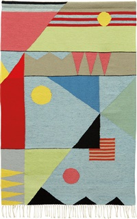 rare rug, for a child's room by grete reichardt