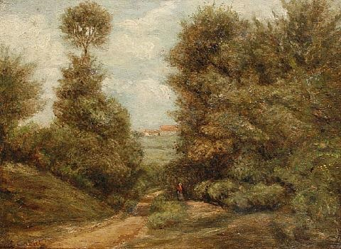 a country lane by nicolas louis cabat