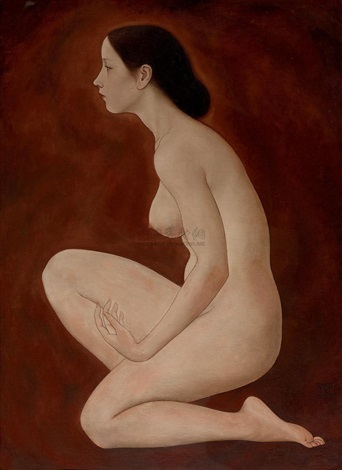 female nude by xue yanqun
