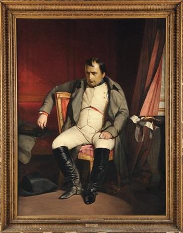 napoléon ier à fontainebleau le 31 mars 1814 by paul hippolyte delaroche