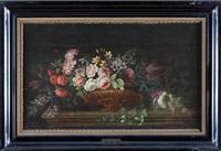 waza z kwiatami by coenraet (conrad) roepel