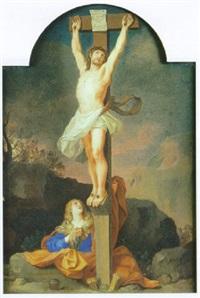 madeleine au pied de la croix by antoinette herault