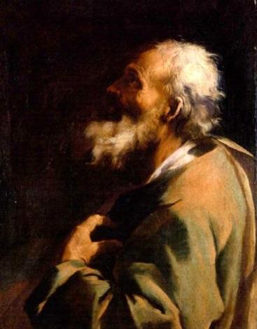 a male saint by giuseppe antonio petrini