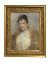 kvinnoporträtt by elisabeth warling