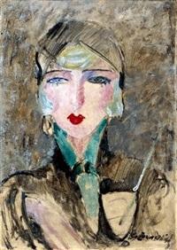 portret kobiety by czeslaw zawadzinski