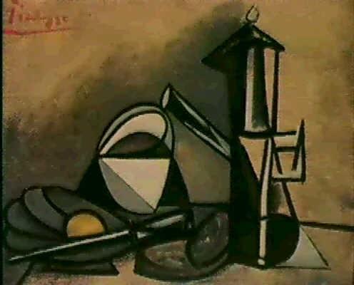 Nature morte à la cafetière by Pablo Picasso on artnet