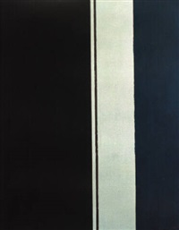 the word ii by barnett newman