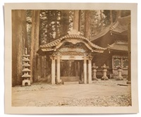 japon, nikko, chozusha by raimund von (baron) stillfried-rathenitz