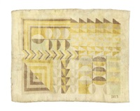 modernist rug by marion dorn