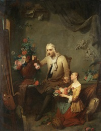 segers and his daughter by petrus kremer
