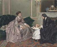 first steps by gustave léonhard de jonghe