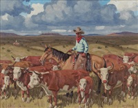the roundup (texas) by fred darge