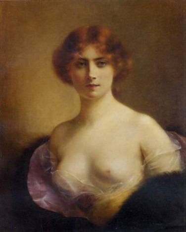 a young beauty by henri rondel