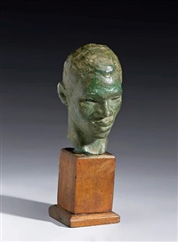 head of a boy by richmond barthe