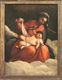 madonna con bambino by alessandro varotari