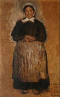 an achill woman by paul henry