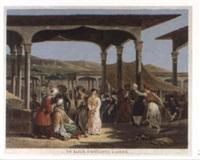 un bazar d'esclaves à alger by jean-pierre-marie jazet