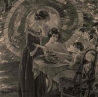 tea time by robert hartley cameron