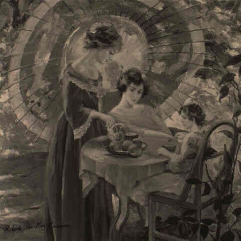 tea time by robert hartley cameron