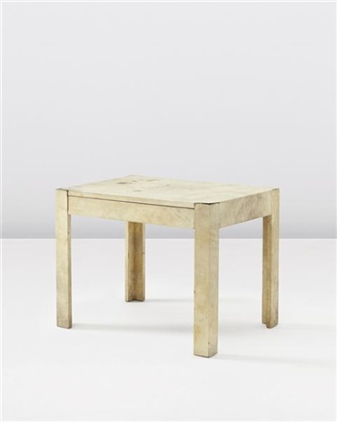 side table with drawer by jean-michel frank