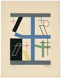 composition by sophie taeuber-arp