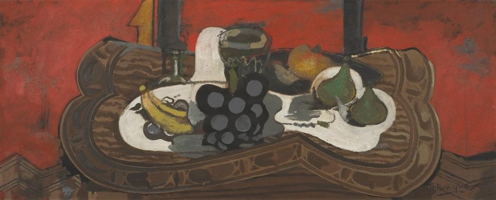 les fruits sur la table by georges braque