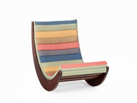 relaxer 2 chair by verner panton