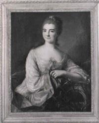 portrait de madame françois darday née catherine françoise claëssen by louis richard françois dupont