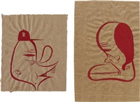 untitled (2 works) by barry mcgee