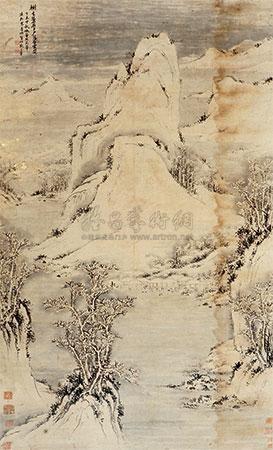 山水 by zhang zongcang