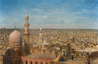 vue panoramique du caire by richard karlovich zommer