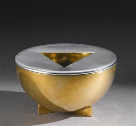 ashtray by marianne brandt