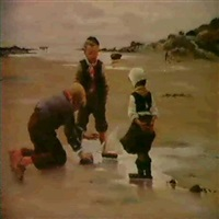 legende born pa stranden by fernand blayn