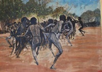 the corroboree by vic hall
