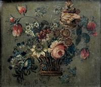 corbeille de fleurs by le riche (leriche)